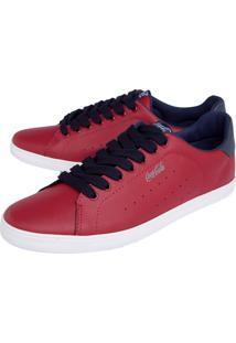 Tênis Coca Cola Shoes Perfuros Vermelho
