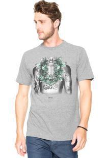 Camiseta Rusty Ac Junkierider Cinza
