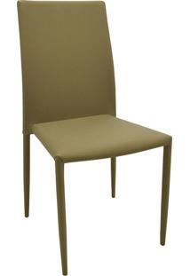 Cadeira Amanda Tecido Bege Escuro