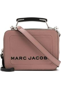 Marc Jacobs The Textured Mini Box Bag - Neutro