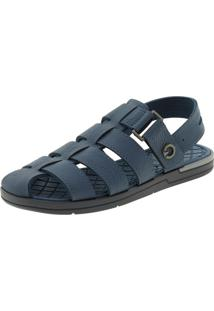 afece762a7 ... Sandália Masculina Cannes Cinza/Azul Cartago - 11338 -17% Clóvis  Calçados