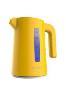 Chaleira Elétrica Cadence, Colors Amarela Cel384 1,7 Litros 127V