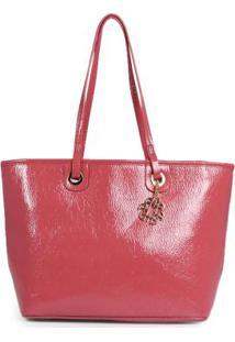 Bolsa Shopping Bag Ana Hickmann Molhado Rosa Rosa