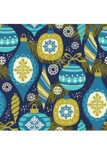 Papel De Parede Adesivo Decoração De Natal (0,58M X 2,50M)