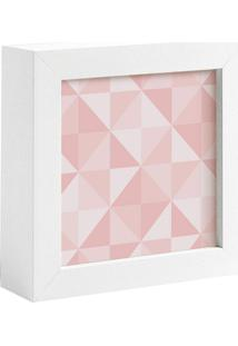 Quadro Decorativo Decohouse Moldura Art Rosa