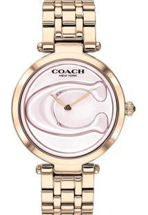 Relógio Coach Feminino Aço Rosé - 14503234
