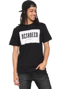 Camiseta Dc Shoes Squareside Preta