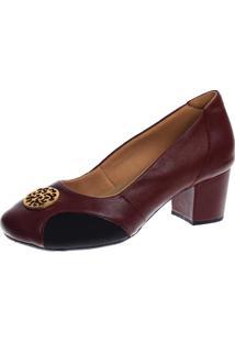 Sapato Salto Doctor Shoes 288 Vinho