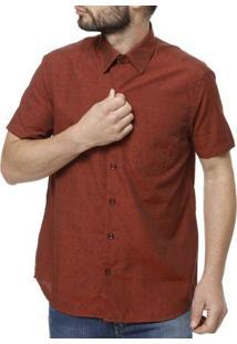 Camisa Manga Curta Masculina Telha