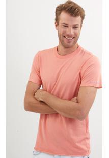 Camiseta John John Budapest Coral Malha Laranja Masculina Tshirt Budapest Coral-Laranja Medio-P