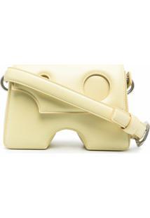 Off-White Bolsa Tiracolo 22 Burrow - Amarelo