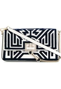 Givenchy Bolsa Tufted Labyrinth - Branco