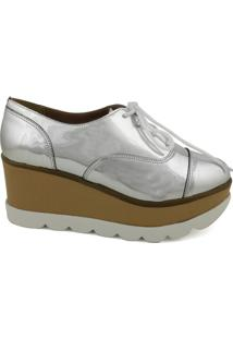 Oxford Feminino Milano Paris Prata 8870