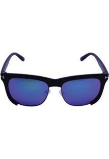 Óculos De Sol Khatto Chic Masculino - Masculino-Preto+Verde