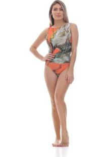 Body Clara Arruda Costa Detalhe 17001 Feminino - Feminino-Rosa