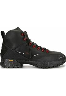 Roa Lace-Up Hiking Ankle Boots - Preto