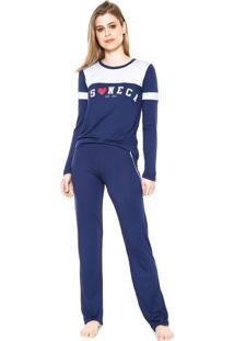 Pijama Any Any Soneca Azul