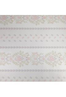 Kit 2 Rolos De Papel De Parede Fwb Adesivo Floral Lilás Fundo Claro - Kanui