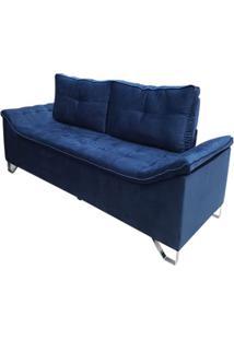 Sofá Avant - 2 Lugares - Azul Luxo