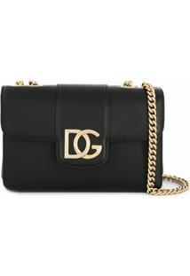 Dolce & Gabbana Bolsa Tiracolo Millenials Pequena - Preto