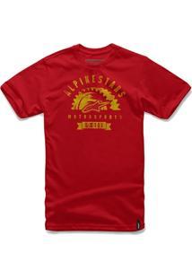 Camiseta Alpinestars Apparat Vermelha - (M/M) - Masculino