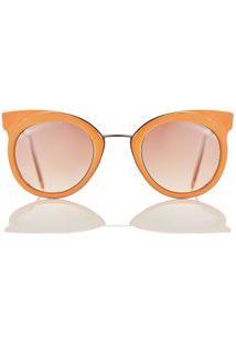 Oculos New Gatinho Fosco Laranja - Tu