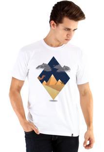 Camiseta Ouroboros Egito Norturno Branco