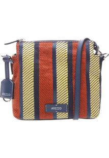 Bolsa Texturizada- Azul Escuro & Vermelhaarezzo & Co.
