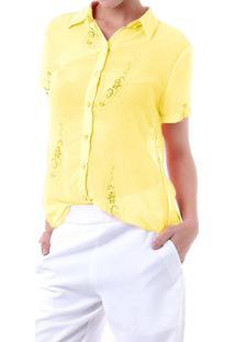 Camisa Energia Amarelo