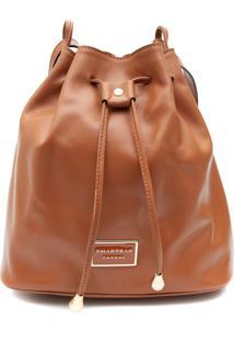 Bolsa Transversal Média Smartbag Saco Caramelo