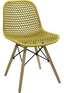 Cadeira Eloisa Amarelo Ocre Rivatti Móveis