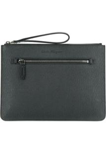 Salvatore Ferragamo Clutch 'Revival' - Preto