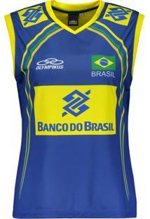 d6145db29d ... Regata Olympikus Brasil Vôlei Cbv 2014 Feminina - Feminino
