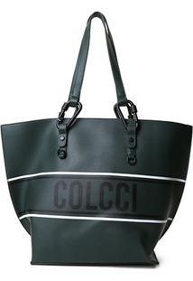 Bolsa Colcci Shopper Esportiva Feminina - Feminino-Verde
