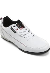 Tênis Corvette Slim Freeway - Masculino-Branco