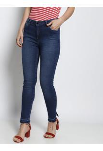 31fed13bd ... Jeans Skinny Estonada - Azul Escurodudalina
