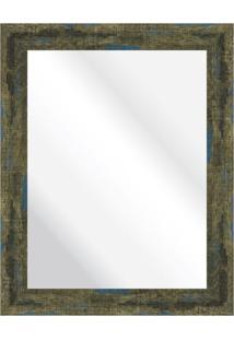 Espelho Demolição Azul 38X48Cm