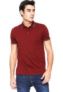 Camisa Polo Sommer Comfort Vinho
