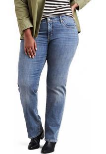 Levis. Calça Jeans Levis 314 Shaping Straight Plus Size ... 8a139823294
