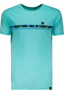 Camiseta Hd Slim Fit - Masculino-Verde