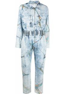 Stella Mccartney Macacão Jeans - Azul