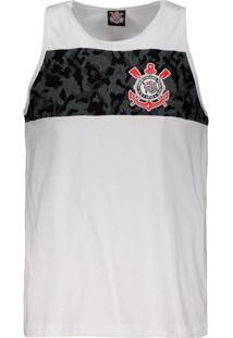 Fut Fanatics. Regata Corinthians Camouflage Branca 993b2a9354556
