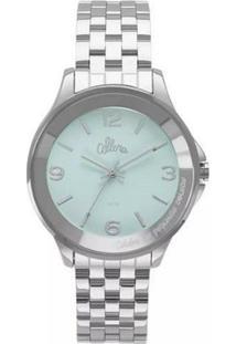 Relógio Allora Al2035Fme/3A Feminino - Feminino-Prata