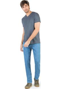 Calça Jeans Comfort Basic Destroyer