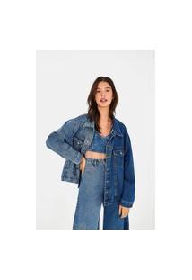 Jaqueta Half Denim Refarm Jeans