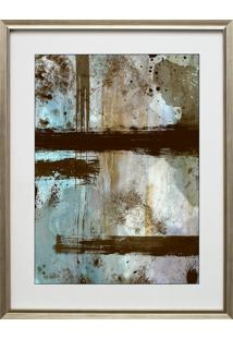 Quadro Decorativo Abstract Blue