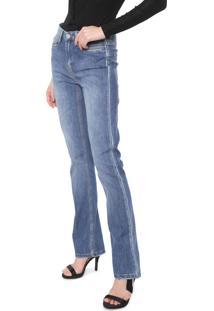 Calça Jeans Carmim Bootcut Ariana Azul