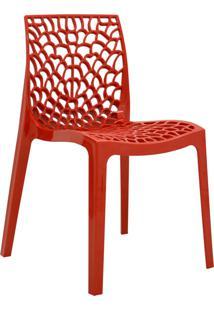 Cadeira Gruvyer -Rivatti - Vermelho