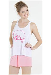 Pijama Feminino Short Doll Nadador Marisa