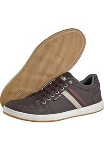 Sapatênis Cr Shoes Com Elástico Leve Lançamento Café